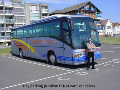 Bay parking problems? Not with Wheeler's!